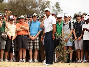 Tiger trips up in Australian Open