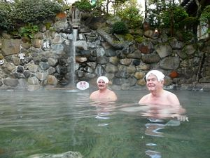 Mature age travellers enjoy Japan