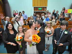 Newlyweds join the elevenses rush