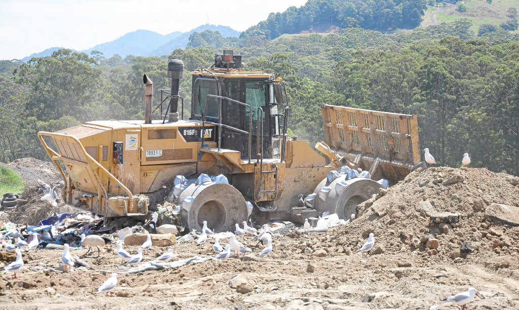 The Coffs Harbour landfill site will be at capacity in seven years.