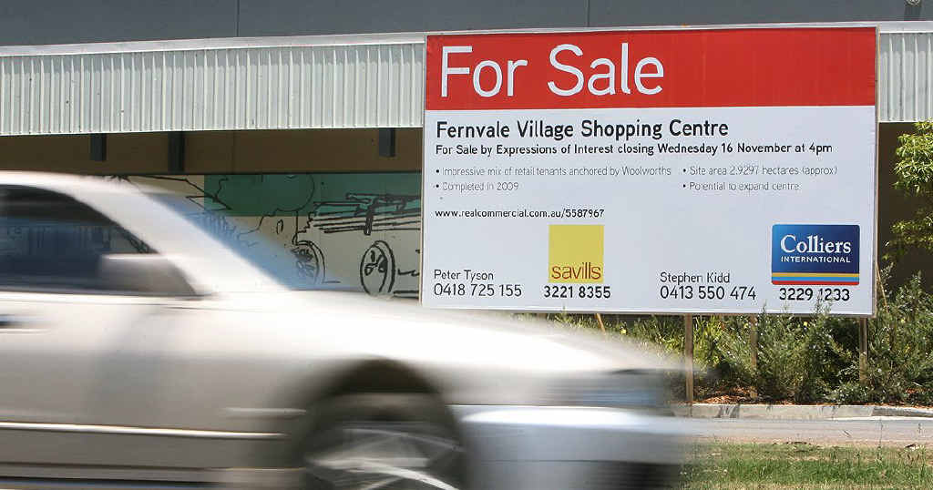 The Fernvale Shopping Centre is up for sale.