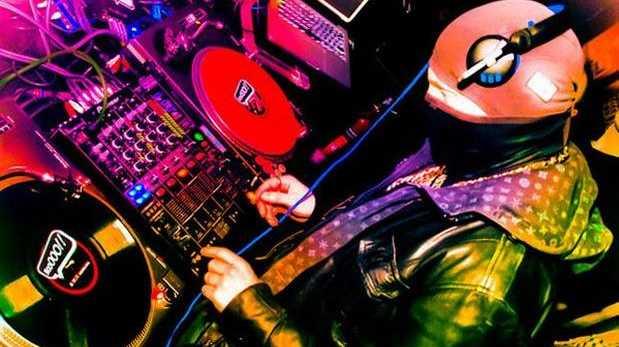 UK dubstep DJ Jaguar Skills plays Byron Bay.