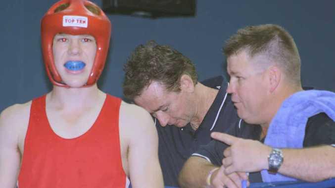 Emerald boxer Matt Grant earlier this year.