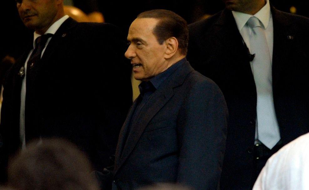 Italian Premier Silvio Berlusconi quits.