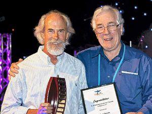 Clive honoured for wetlands work