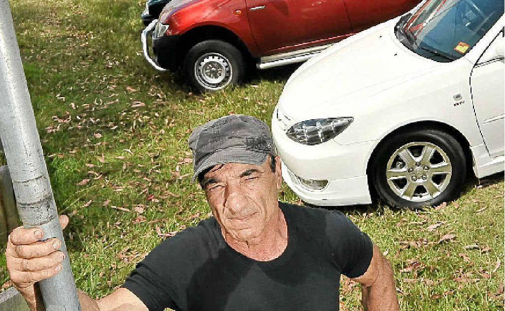 Paul Constantine says poor signage has landed him a parking fine.