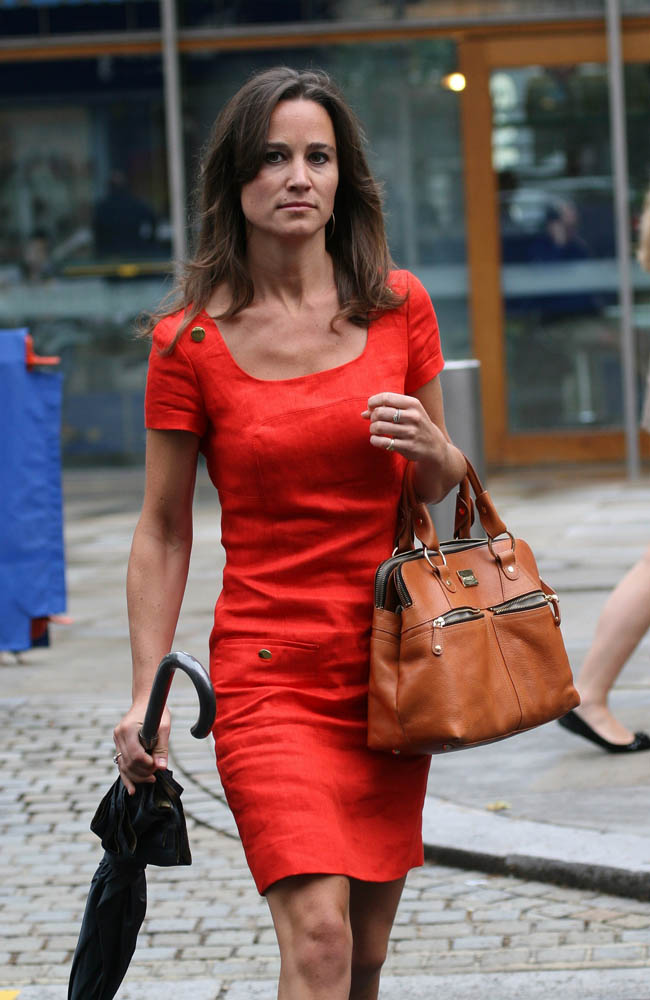 Pippa Middleton was not regarded as