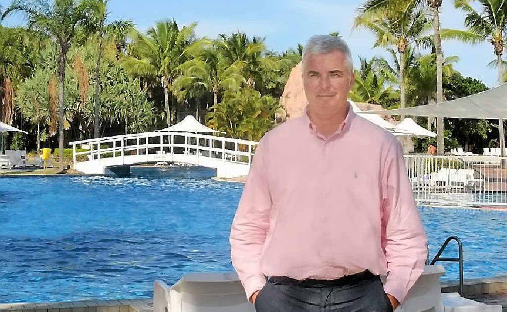 General manager of the Mercure Capricorn Resort Mark Jackson.