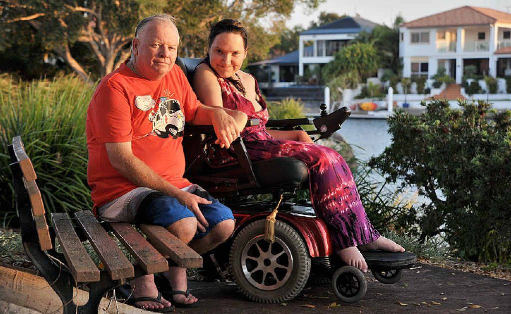 Steve and Chanelle McKenna have to leave Australia and reapply for a visa for Chanelle to be allowed back in.