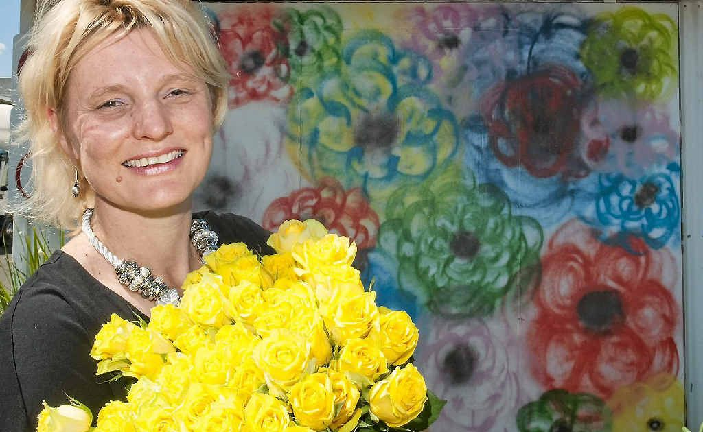Businesswoman Maree Streidl wants to give the community access to fresh and affordable flowers.