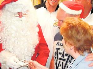 Staff make Santa's job easier
