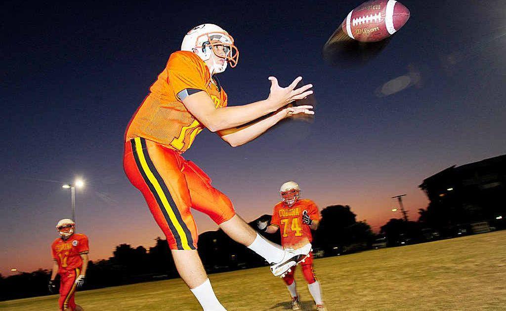 Quarterback Joe Richards is a key figure for the Sunshine Coast Spartans.