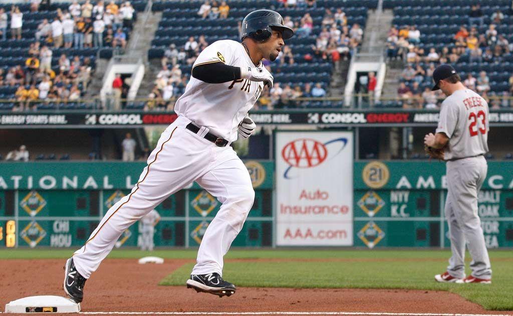 Pittsburgh Pirates' Xavier Paul.