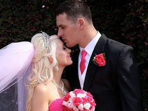 Bride follows heart for dream wedding