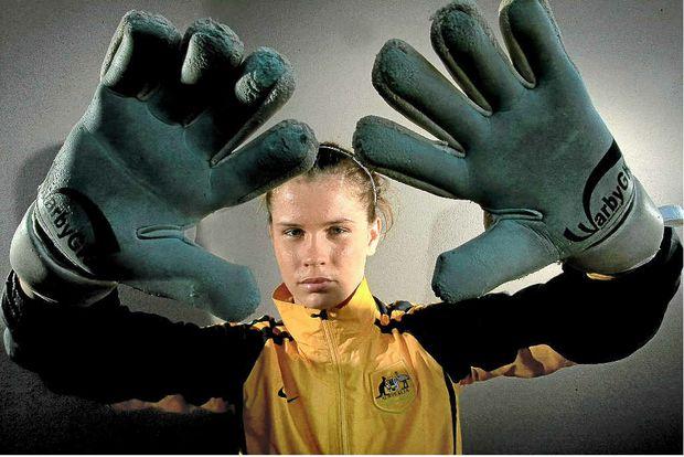 Emerging goalkeeper star Eliza Campbell.