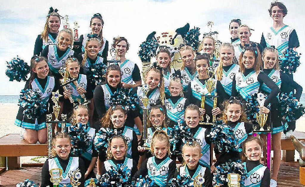 CHEER UP: Currumbin Cheetahs will have the trip of a lifetime.