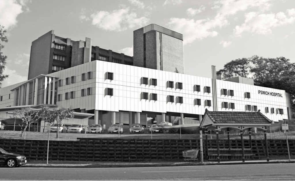 An artist's impression of the Ipswich Hospital expansion.