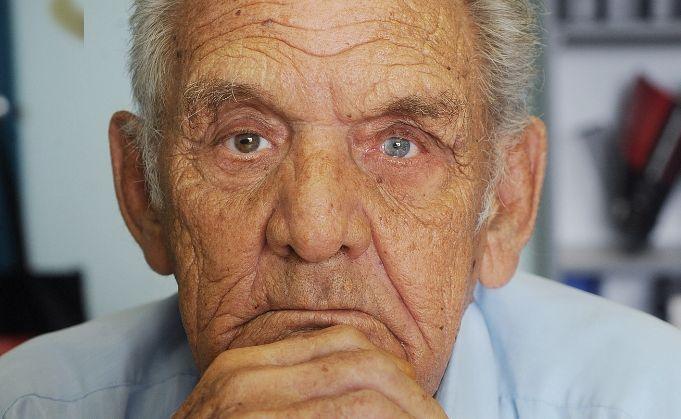 Uncle David Kapeen, senior elder of the Kapeen family.