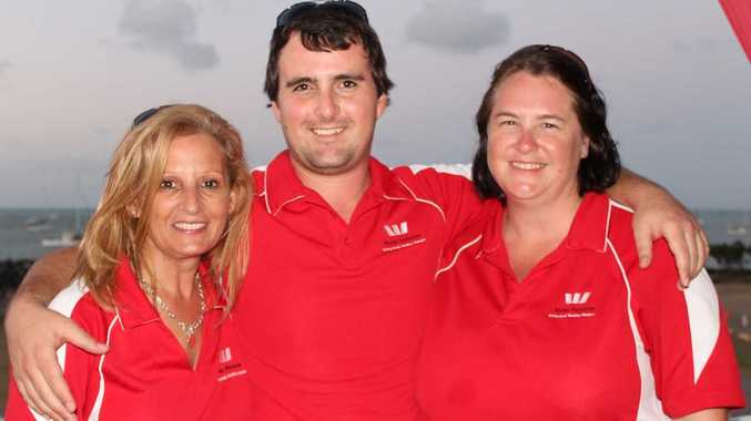 LEADING BANK: Westpac staff members Tania Coomber, Patrick Manning and Amanda Baxter took part in the second Corporate Sailing Challnege on Saturday, with Westpac winning first and second place ahead of the National Australia Bank.