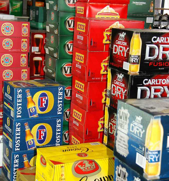Savour this sight because there might come a day when Emerald floods again and the local bottleshop runs dry.