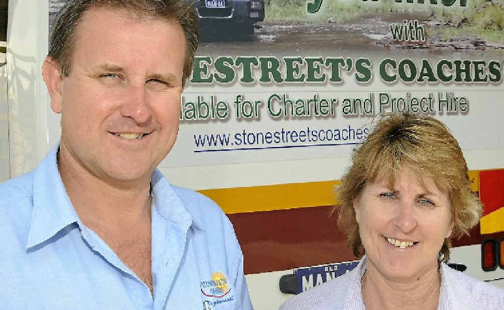 The owners of Stonestreet's Coaches Phil Stonestreet and Bev Mules have secured a multi-million dollar contract servicing the mining and resources sector.