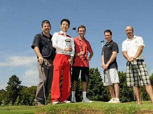 Jockeys to take on golf challenge