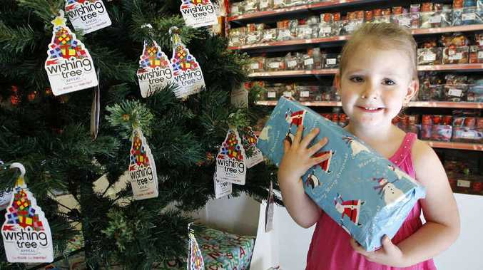 Kmart urgently needs presents for its annual Wishing Tree Appeal.
