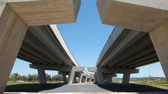 Final touches are being made to the Ballina Bypass.