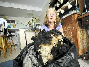 Neighbour saves home from fire