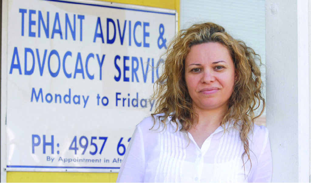 Tenant Advice and Advocacy Services Mackay co-ordinator Koni Tsakonas has tips to help get your foot in the door.