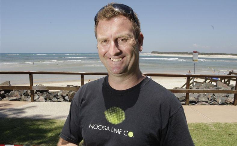 Scott Ewington from the Noosa Lime Co.