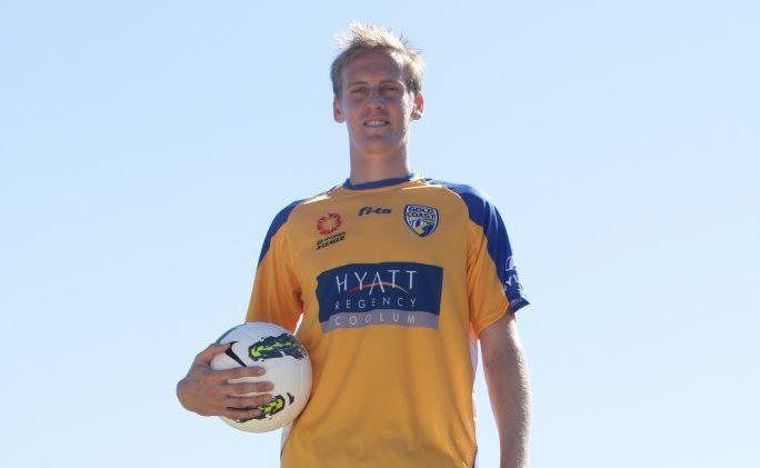 Gold Coast United captain, Michael Thwaite.