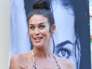 Spotted: Megan Gale on the Coast
