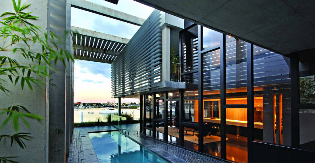 31 Carwoola Crescent, Mooloolaba is a Frank Macchia designed waterfront residence.