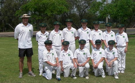 GREAT GAME: The Lockyer Under 12 representative side which defeated Goondiwindi at the weekend.