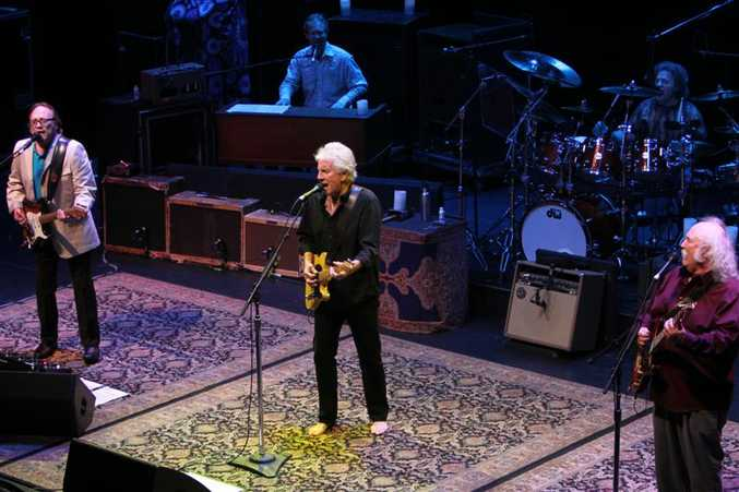 Crosby, Stills and Nash (minus Neil Young) will perform at Bluesfest.