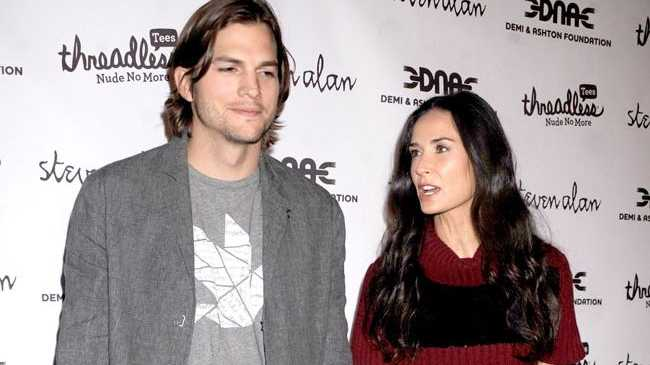 Demi Moore and Ashton Kutcher are calling it quits on their marriage.
