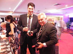 Rugby hero winner in business