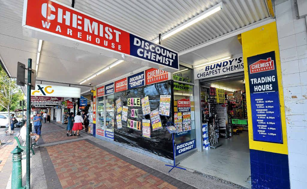 Changes to federal laws that restrict where new pharmacies can be opened have forced Chemist Warehouse to shelve plans it had for outlets in Childers and Gin Gin.