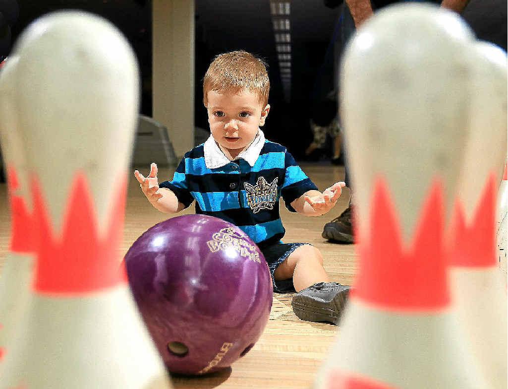 The Gold Coast community has dug deep to help little Bronson Simpson.
