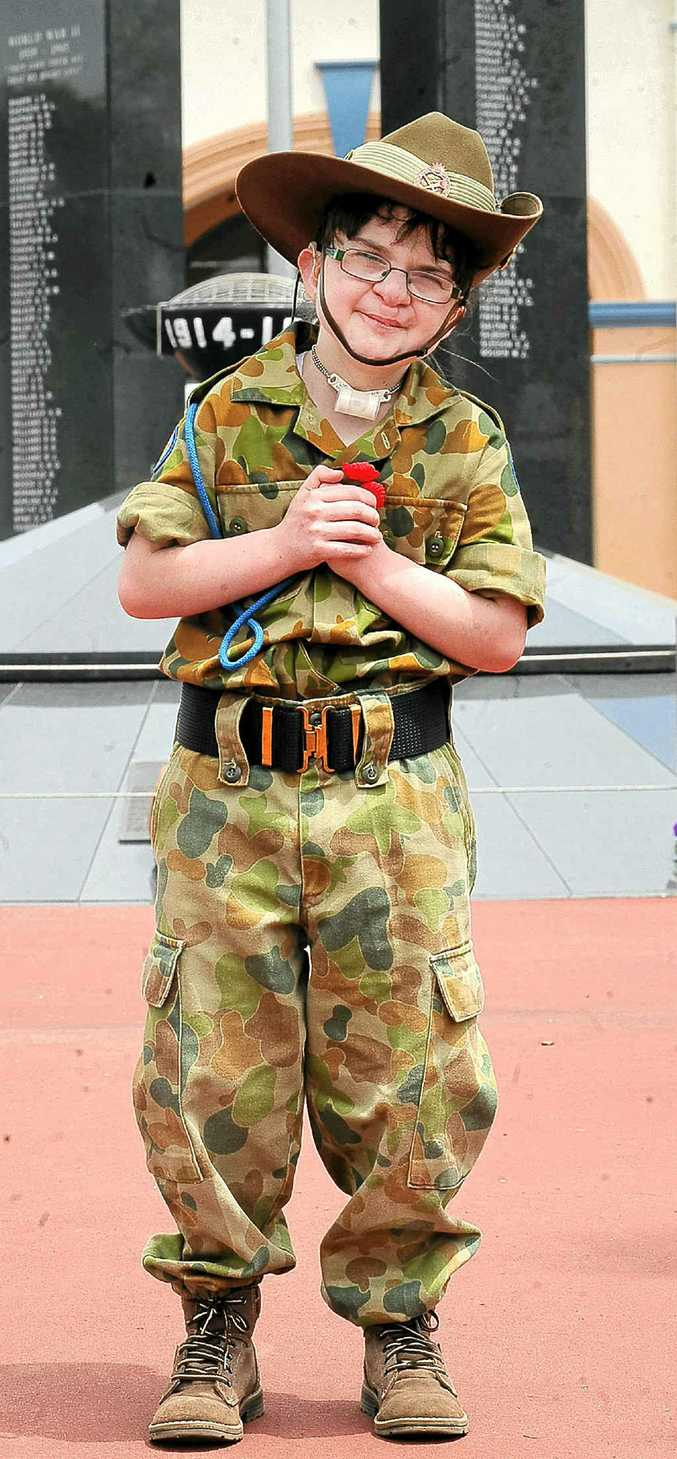 Summer Castles, 14, has endured between 115 and 120 operations but has fulfilled her dream of becoming an ADF Cadet.