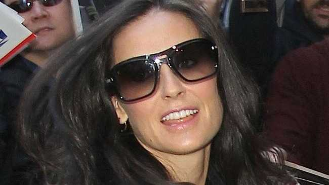 Demi Moore reportedly said that she will