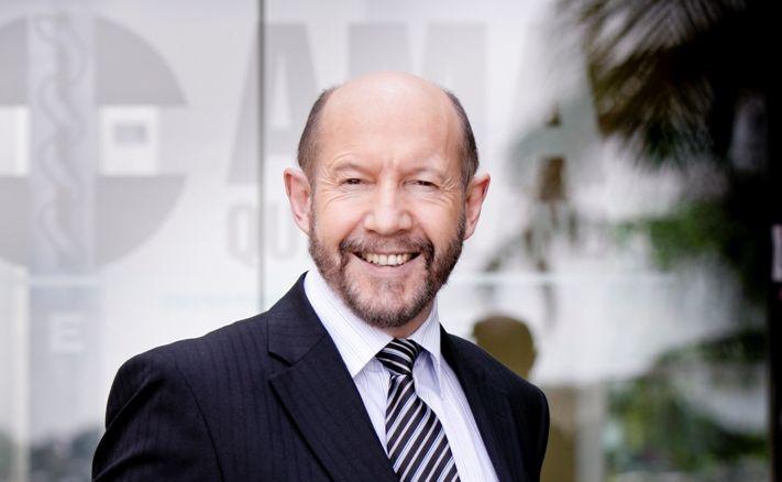AMA Queensland president Dr Richard Kidd.