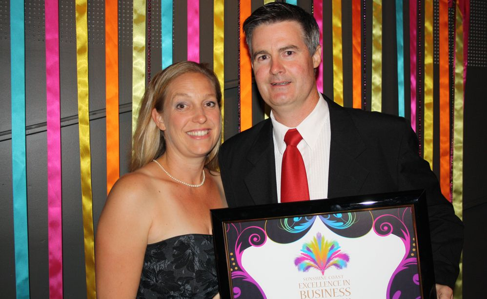 Sunshine Coast business awards night at the Innovation Centre, University of the Sunshine Coast