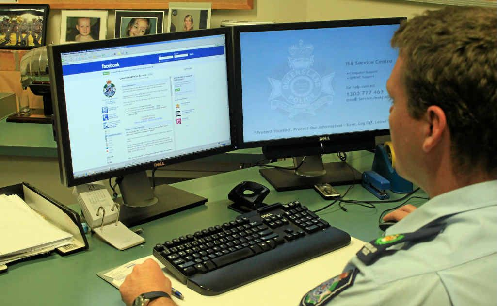 Senior Sergeant Stewart Day advises all to be mindful of their Facebook posts.