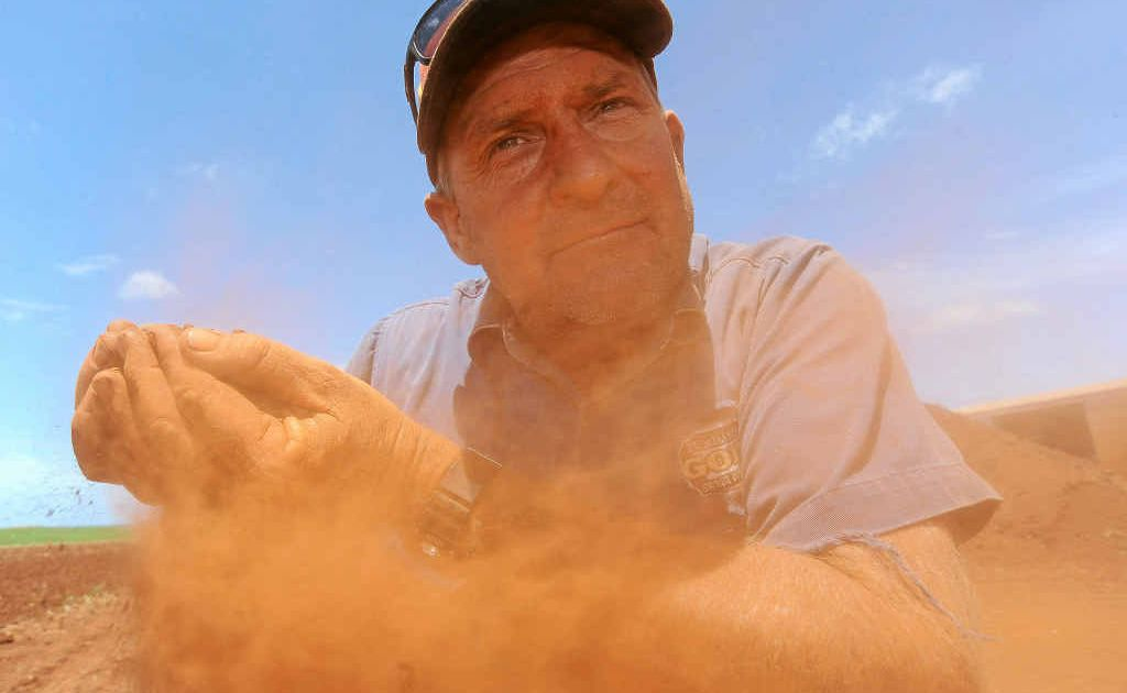 It's been a long wait for rain for Windhum Farms owner Darren Zunker with the driest November in Bundaberg since records began.