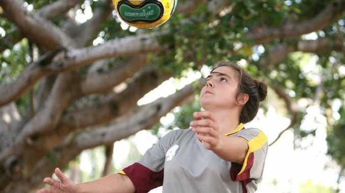 Felicity Morris will represent Australia in futsal in Barcelona.