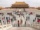 The main courtyard at Beijing's Forbidden City.