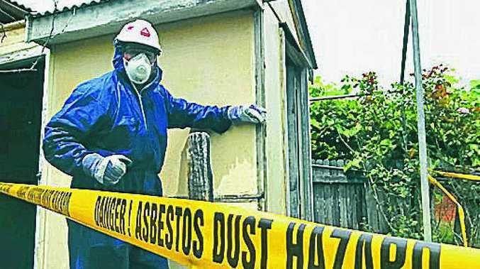 Pilot program offers incentives to dump bonded asbestos