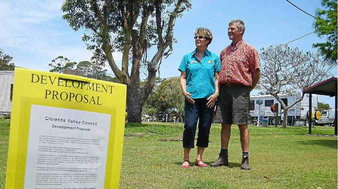 Graeme and Anne Lockyer, of Anchorage Holiday Park Iluka, have submitted a DA to council.
